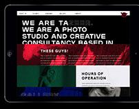 Tazeer Studio Branding