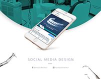 Social Media Post Design - Marka Diş
