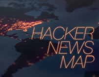 Hacker News Map