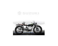 Suzuki Scrambler Vintage | Design Proposal