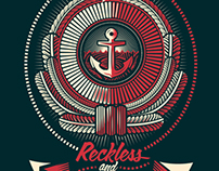 Reckless & Relentless Tee Design