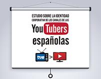 Estudio de identidad corporativa de youtubers españolas