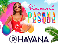 Havana outdoor poster design
