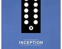 Inception graphic movie poster