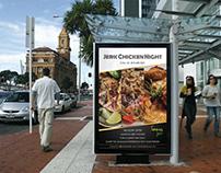 Creative Flyer or Poster for Restaurant / Bar / Pub