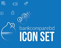 Bankcomparebd Icon Set