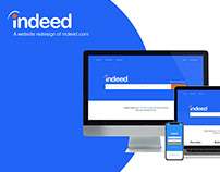 Website Redesign: indeed.com