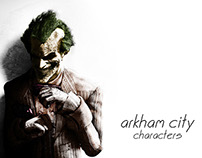 Arkham City Character re-color