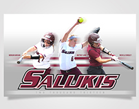 Saluki Softball Banner