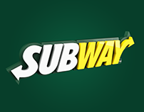 3D Logo - Subway