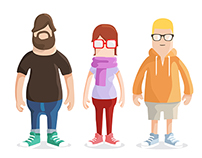 Google character designs