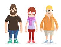 Google character designs