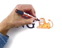 Whiteboard animatie ING