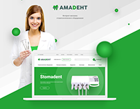 Amadent, online store