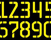 JC Stencil - Typeface