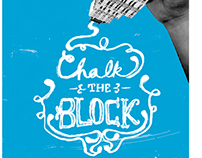 Chalk the Block / Poster design