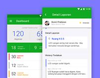 Laporkan Management App