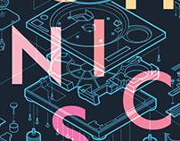 Technics Poster