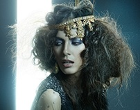"""""""GOLD"""" Editorial Story - MAD Vintage Couture 2011"""