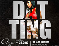Party Flyer-Dat Ting