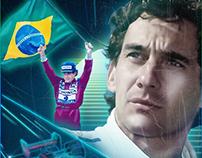 Ode ao maior ídolo do Brasil - Ayrton Senna