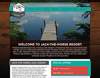 Jack-The-Horse Resort Web Design