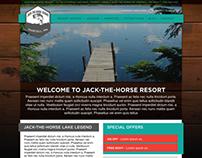 Jack-The-Horse Resort Web Design