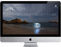 2011 Digital Desktop Calendar