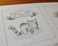 """Copy"" the Cat Comic"