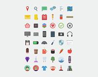 Flatilicious - Free Flat Icons