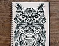 Owl - Queen Of The Night