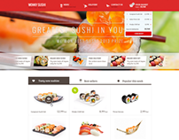 Wonky Sushi - Tasty PSD Template