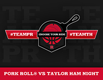 Rutgers' Taylor Ham® vs Pork Roll Night