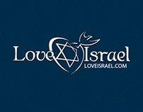 LoveIsrael.com website design