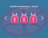 Dribbble Basketball Jersey Illustration - 11