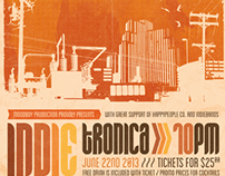 Indietronica Flyer/Poster