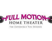 Full Motion logo and brochure