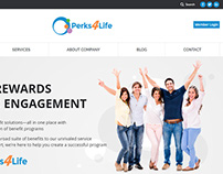Perks4Life: Web Development Work