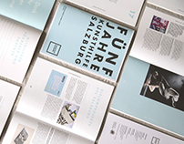 Editorial Design, 5 Jahre Kunsthilfe