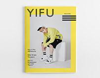 YIFU | Athleisure Magazine Design