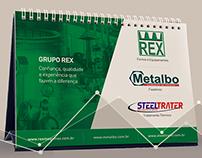 Calendário Rex Fornos e Equipamentos