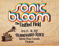 Sonic Bloom 2017 Word Mark