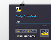 Europol, Poster Style Guide // Poster Design