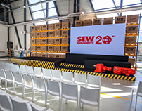 SEW warehouse - stage design