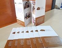 Folder do Museu Arqueológico Balneário Rincão