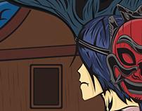 Red Spirit Mask