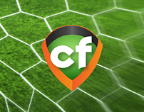 """Circuito Fútbol"", website for company"