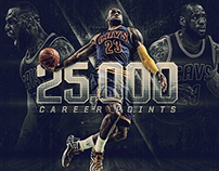 2015-16 LeBron James  Scoring Milestones