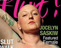 Flurt! Magazine Design