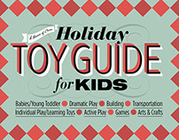 """Design for """"Holiday Toy Guide for Kids"""" Blog Post"""